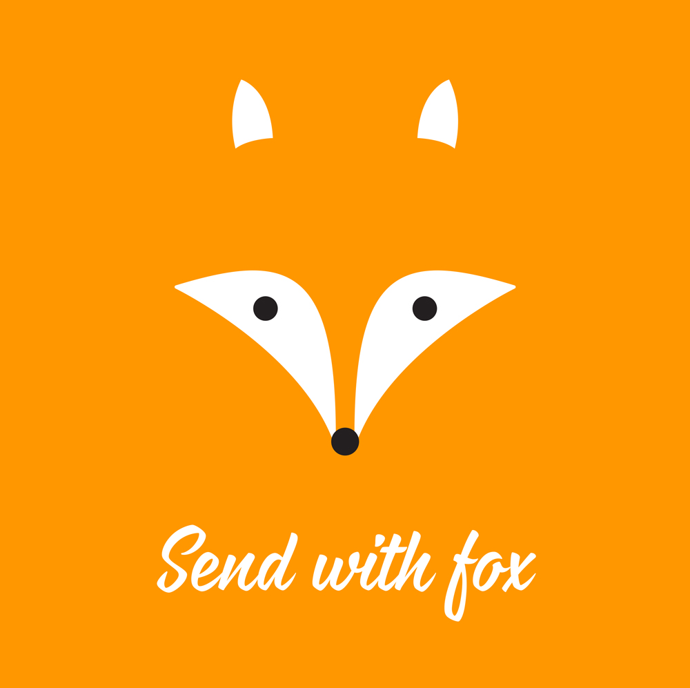 Send with fox