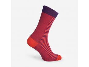 Nerozlučné ponožky - PURPLE ADMIRAL